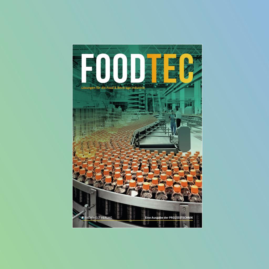 Foodtec Food Lebensmittel PROZESSTECHNIK Prozess Technik Media Mediaunterlagen Mediadaten Fachmagazin Fachzeitschrift Zeitschrift Magazin Industrie Branche
