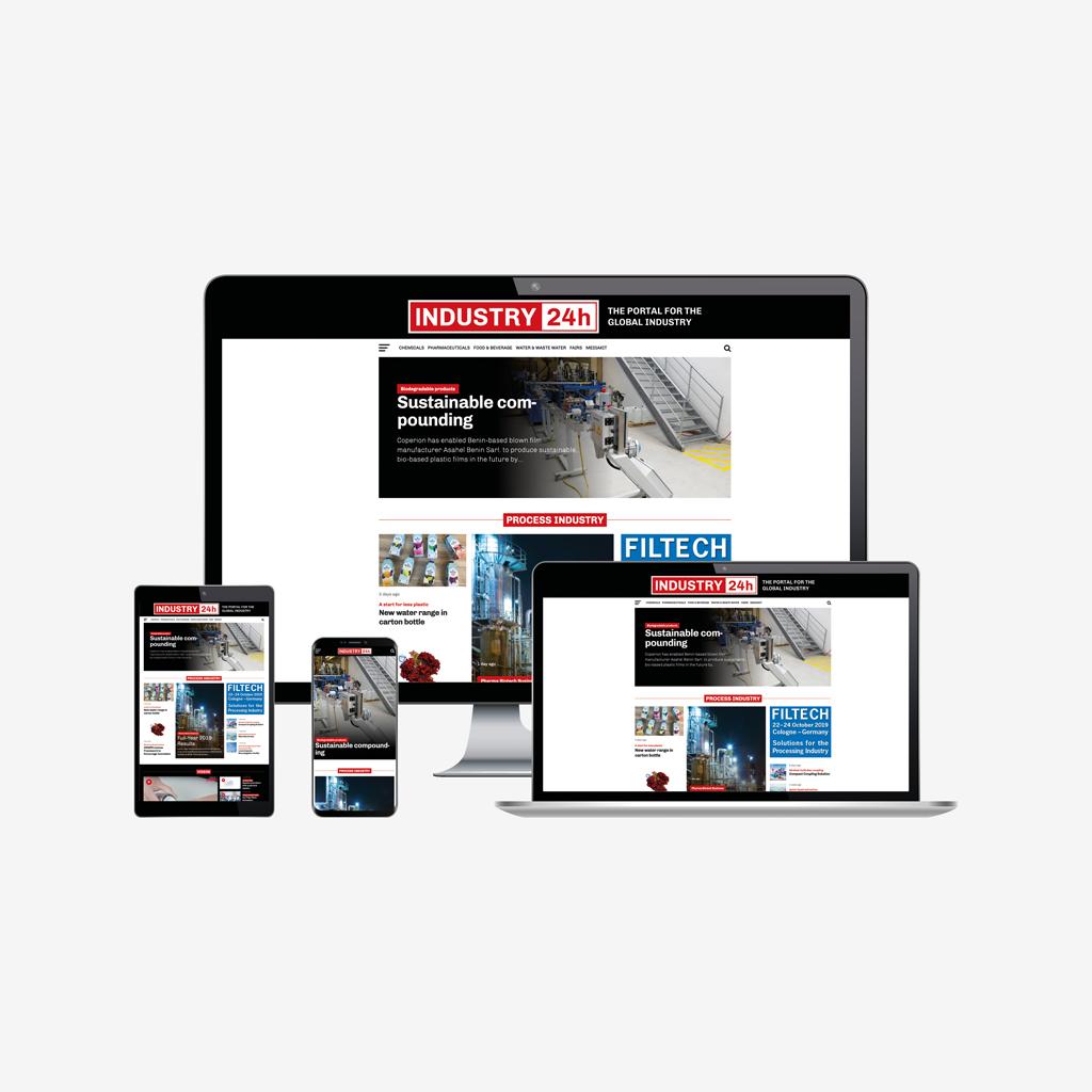 INDUSTRY24h IndustrieWelt Welt Facebook YouTube PROZESSTECHNIK Prozess Technik Fachmagazin Fachzeitschrift Zeitschrift Magazin Industrie Branche