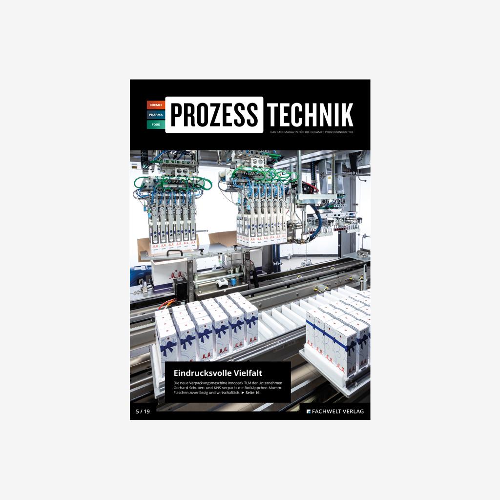 PROZESSTECHNIK Prozess Technik Media Mediaunterlagen Mediadaten Fachmagazin Fachzeitschrift Zeitschrift Magazin Industrie Branche